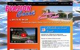 screenshot http://www.evasioncanoe-ardeche.com canoe ardeche
