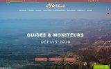 screenshot http://www.exoride.net Séjours VTT enduro freeride au Maroc et en Suisse