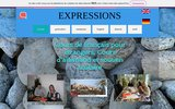 screenshot http://www.expressions-fle.fr expressions - cours de français langue étrangère