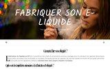 screenshot http://www.fabriquersoneliquide.fr Arômes Concentrés pour E Liquide DIY