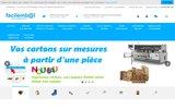 screenshot http://www.facilembal.fr cartons d emballage