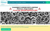 screenshot http://www.fginox.fr/ fginox,  tuyauterie et robinetterie industrielle