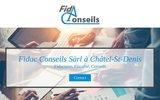 screenshot http://www.fidac-conseils.ch fidac conseils sàrl, fiduciaire - fiscalité - conseil