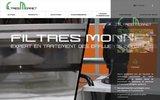 screenshot http://www.filtres-monnet.fr/ systèmes de filtration industrielle