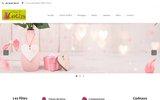screenshot http://www.fleurs-de-lotus.fr Institut de massage Indien Abhyanga à l'huile de sésame bio
