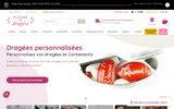 screenshot http://www.fleursdedragees.com/ Fleurs de dragées, dragées et décoration