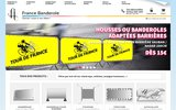 screenshot http://www.france-banderole.fr banderole publicitaire