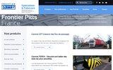 screenshot http://www.frontier-pitts.fr/ Sécurité