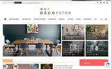 screenshot http://www.futondeco.com canapé convertible design