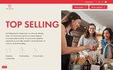 screenshot http://www.fymaction.fr externalisation de commerciaux ou merchandiseurs dédiés ou ponctuels