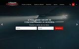 screenshot http://www.gabriel.ca/ concessionnaire automobile montréal ou automobile : concessionnaire automobile montréal