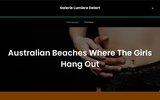 screenshot http://www.galerie-lumieresdelart.com galerie d'art 92