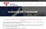 screenshot http://www.garagedethorigne.fr Garage auto à Cesson-Sevigné