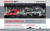 screenshot http://www.garagerey.fr garage agricole autos rey