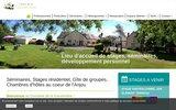 screenshot http://www.gauveniere.com/ Centre de la Gauvenière
