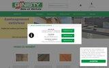 screenshot http://www.ginistybois.fr ginisty bois et derives
