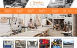 screenshot http://www.giroudon.fr ets giroudon: machines à bois neuves et d'occasion