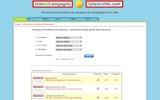 screenshot http://www.gitesdegaule.fr annuaire de gites et chambres d'hôtes en france et dans les dom-tom