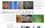 screenshot http://www.giuliani-art.ch roberto giuliani, artiste peintre, art abstrait, art contemporain