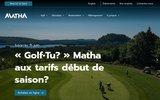 screenshot http://www.glissadesurtube.com Glissade sur neige
