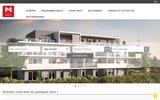 screenshot http://www.gmimmobilier.fr agences gm immobilier, l'immobilier sur la région d'annecy en toute sécurité