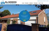 screenshot http://www.godon-couverture-renovation.fr Entreprise de rénovation