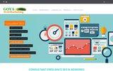 screenshot http://www.goyawebmarketing.com agence web sp�cialis�e en r�f�rencement pour petit commerce