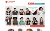 screenshot http://www.grand-toulouse-colocation.com l'auberge, agence de colocation à toulouse