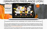 screenshot http://www.graphiste-freelance-lyon.com webdesigner graphiste freelance à lyon