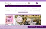 screenshot http://www.gravure-events.fr gravure events - des id�es de d�coration