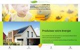screenshot http://www.greensun.be photovoltaïques clé en main, installé et économisé !