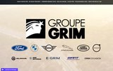 screenshot http://www.groupe-grim.com groupe grim concessionnaire multimarques