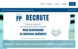 screenshot http://www.groupefp.fr eaux