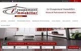 screenshot http://www.groupementimmo.net/ groupementimmo - réseau d'agent indépendant