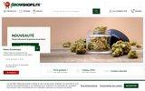 screenshot http://www.growshops.fr culture indoor