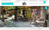 screenshot http://www.gwadapagaie.com gwada pagaie location kayak bouillante-guadeloupe