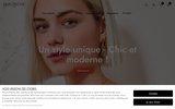 screenshot http://www.halogeneparis.fr halogene fabricant - grossiste de prêt à porter