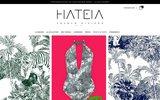 screenshot http://www.hateia.com/ Hateia
