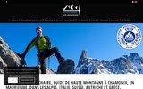 screenshot http://www.haute-montagne.net ecole d'alpinisme