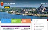 screenshot http://www.haybes.fr haybes, commune située au cœur des ardennes