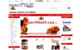 screenshot http://www.hectorpoulet.com hector poulet, le spécialiste du condiment
