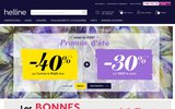 screenshot http://www.helline.fr prêt à porter féminin