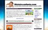 screenshot http://www.histoire-enfants.com histoires et contes pour enfants