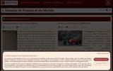 screenshot http://www.histoire-pour-tous.fr histoire pour tous