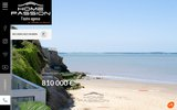 screenshot http://www.homepassion.fr agence immobiliere a royan