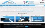 screenshot http://www.hors-normes-immobilier.com/ agence immobilière de prestige