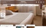 screenshot http://www.hotel-cleria.com/ hôtel Cléria Lorient