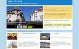 screenshot http://www.hotel-le-touquet.fr/ hôtel le touquet
