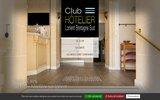 screenshot http://www.hotel-lorient.com club hotelier de lorient