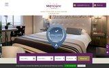 screenshot http://www.hotel-mercure-dijon.com/ hotel restaurant dijon mercure